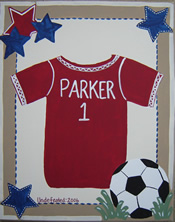 Sports Jersey Canvas