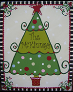 Christmas Tree Family Canvas...click for more details!
