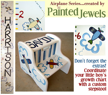 The Airplane Series...created by Painted Jewels!