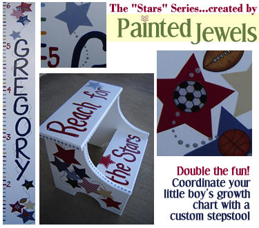 The Stars Series...created by Painted Jewels!